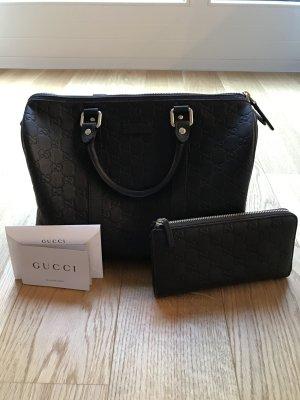 Gucci Boston Bag in Leder NEU