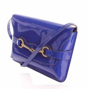 Gucci Bright Bit Clutch Tasche blue sapphire crossbody blau gold neu