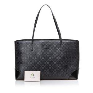 Gucci Bright Diamante Leather Tote Bag