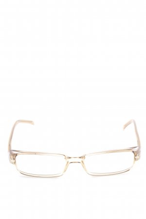 Gucci Brille goldfarben-camel Casual-Look