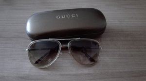 Gucci Brille in braun