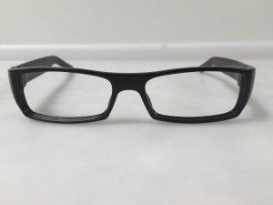 Gucci Brille, schwarz, Brillengestell, getragen, guter Zustand, NP 220 €