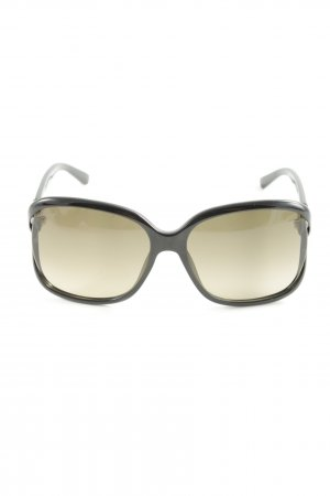Gucci Brille schwarz-graubraun Street-Fashion-Look