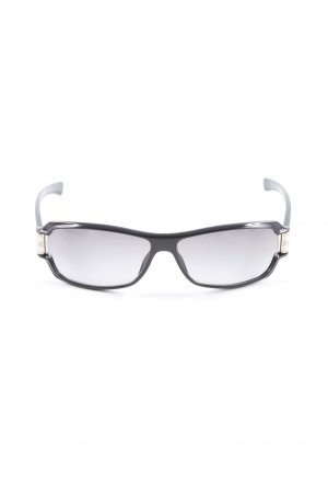 Gucci Glasses black-silver-colored mixed pattern street-fashion look