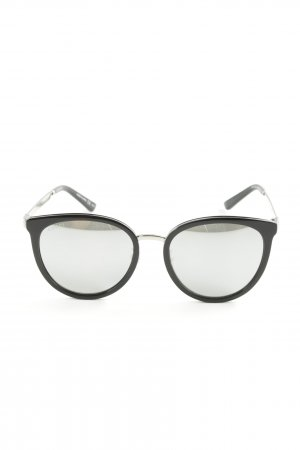 Gucci Brille schwarz-silberfarben Street-Fashion-Look
