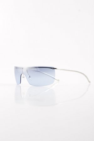 Gucci Glasses silver-colored-azure athletic style