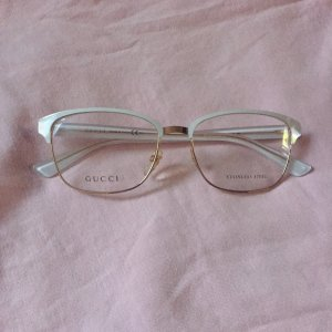 Gucci Glasses white-gold-colored