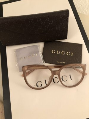 Gucci Glasses dusky pink