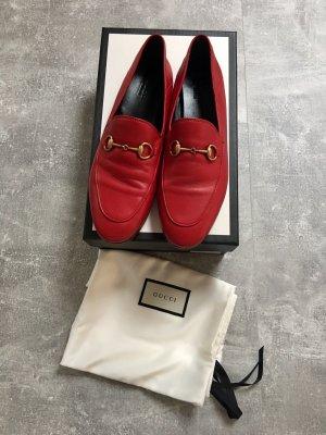 Gucci Mocassino rosso scuro