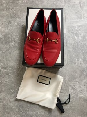 Gucci Brixton Loafer Red