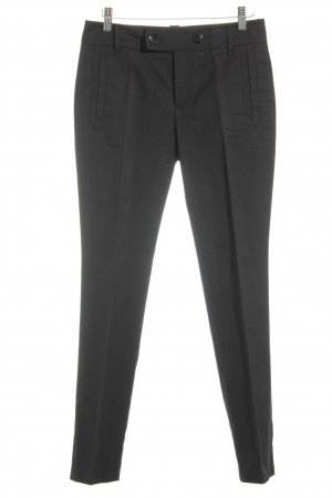 Gucci Bundfaltenhose schwarz Business-Look