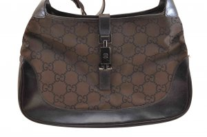 Gucci Canvas Hand Bag
