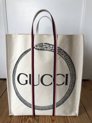 Gucci Canvas Shopper