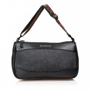 Gucci Canvas Web Strap Handbag