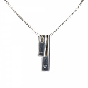 Gucci Chain Silver Necklace