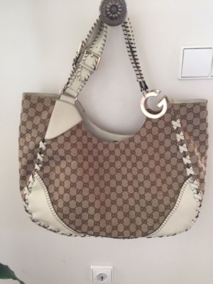 Gucci Hobos beige-natural white