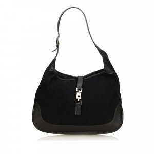 Gucci Shoulder Bag black mixture fibre