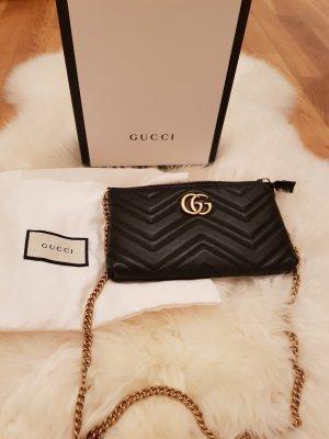 Gucci Clutch GG Marmont schwarz