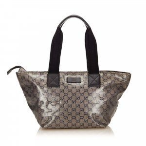 Gucci Coated Canvas Shoulder Bag