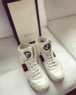 Gucci Zapatillas altas blanco