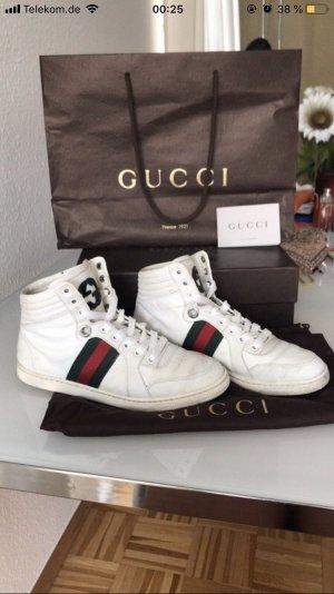 Gucci High Top Sneaker white