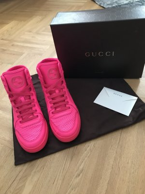 Gucci High Top Sneaker multicolored leather