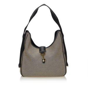 Gucci Shoulder Bag beige cotton