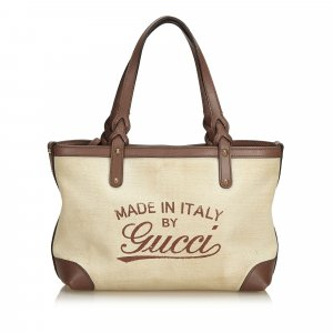 Gucci Craft Tote Bag