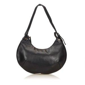 Gucci Crescent Half Moon Hobo Bag