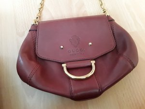 Gucci Handbag carmine leather