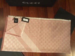 Gucci Damen 2Farbigen Schal Tuch 140x140 NEU Wolle/Seide