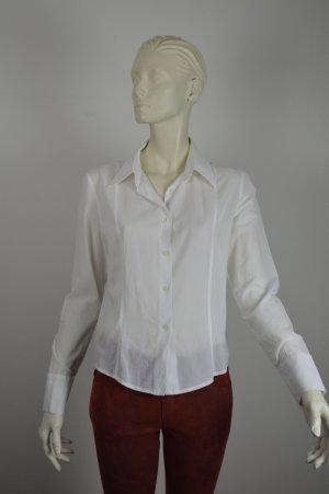 GUCCI Damen Bluse Gr. 36 Weiß