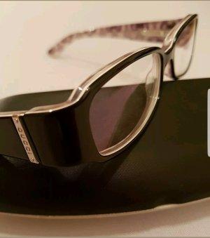 Gucci Occhiale nero-argento Materiale sintetico