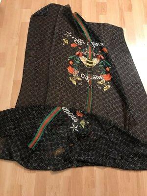 Gucci Bufanda de seda multicolor Seda