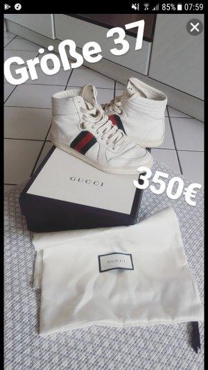 Gucci Damen Sneaker weiß größe 37