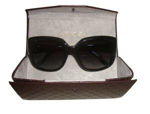 Gucci Damen Sonnenbrille GG 3574/S W6ZW Schwarz Gold neu mit Box