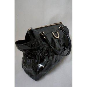 GUCCI Damen Tasche Damenhandtasche Lacktasche in schwarz