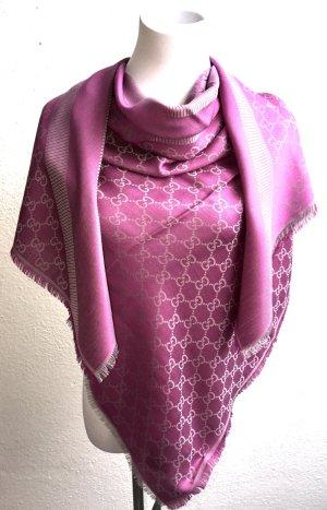 Gucci Damen Tuch Schal, XL, Wolle, Neu