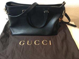 GUCCI Damentasche Schwarz Bamboo Neu mit Etikett