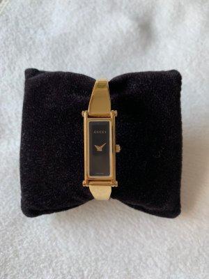 Gucci Fibbia orologio oro-nero