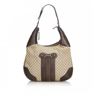 Gucci Diamante Canvas Catherine Shoulder Bag