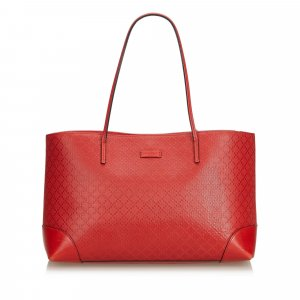 Gucci Diamante Hilary Lux Leather Tote Bag