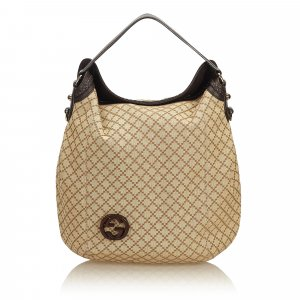Gucci Diamante Jacquard Hobo