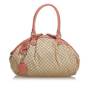 Gucci Diamante Jacquard Sukey Handbag