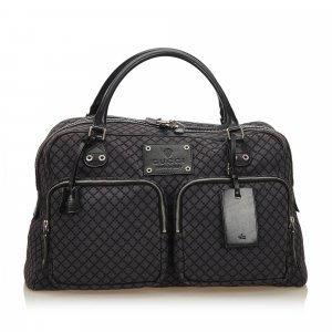 Gucci Diamante Jacquard Travel Bag