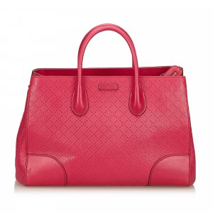 Gucci Diamante Leather Handbag