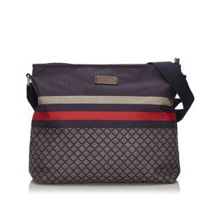 Gucci Diamante Nylon Crossbody Bag