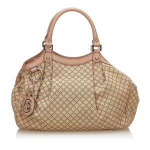 Gucci Diamante Sukey Tote Bag