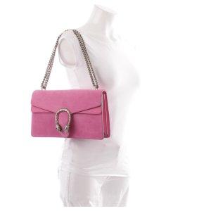 Gucci Dionysus flag Bag Schultertasche Pink Suede Luxus Top Weihnachten