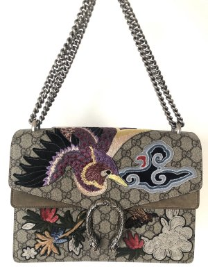 Gucci Dionysus GG Bird Embroidered